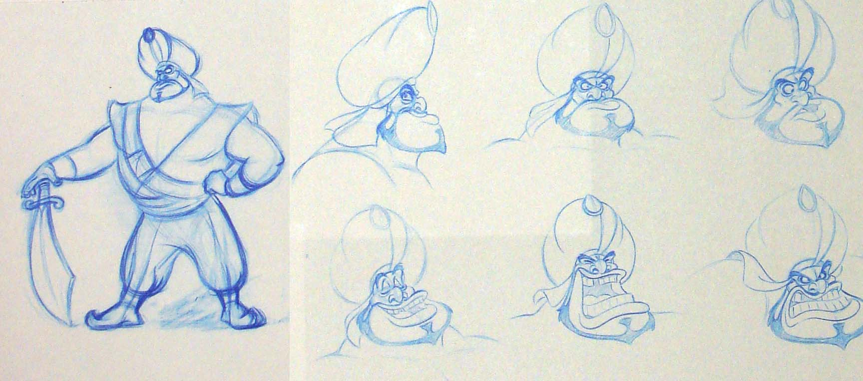 Disney Character Design Study : Character design and maquette building with phil young